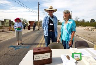 during the Fort Lowell Day Celebration Saturday, Feb. 14, 2015. Photo by Steve Marcus/Courtesy of the Fort Lowell Neighborhood Association